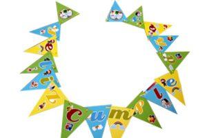 Banderín feliz cumpleaños Baby tv