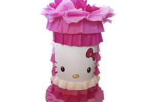 Piñata Cilindro 50 cm Hello Kitty